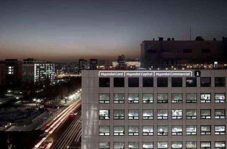 Hyundai Capital headquarters on Yeouido, Seoul / Courtesy of Hyundai Capital