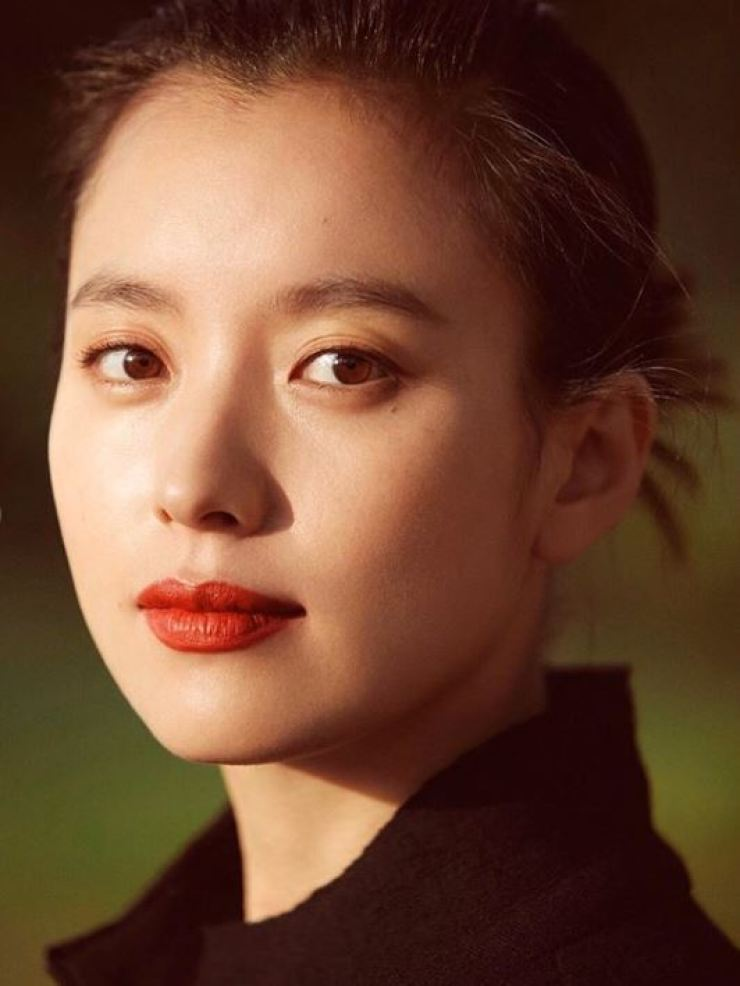 Han Hyo-joo's new profile photo. Captured from Han's Instagram