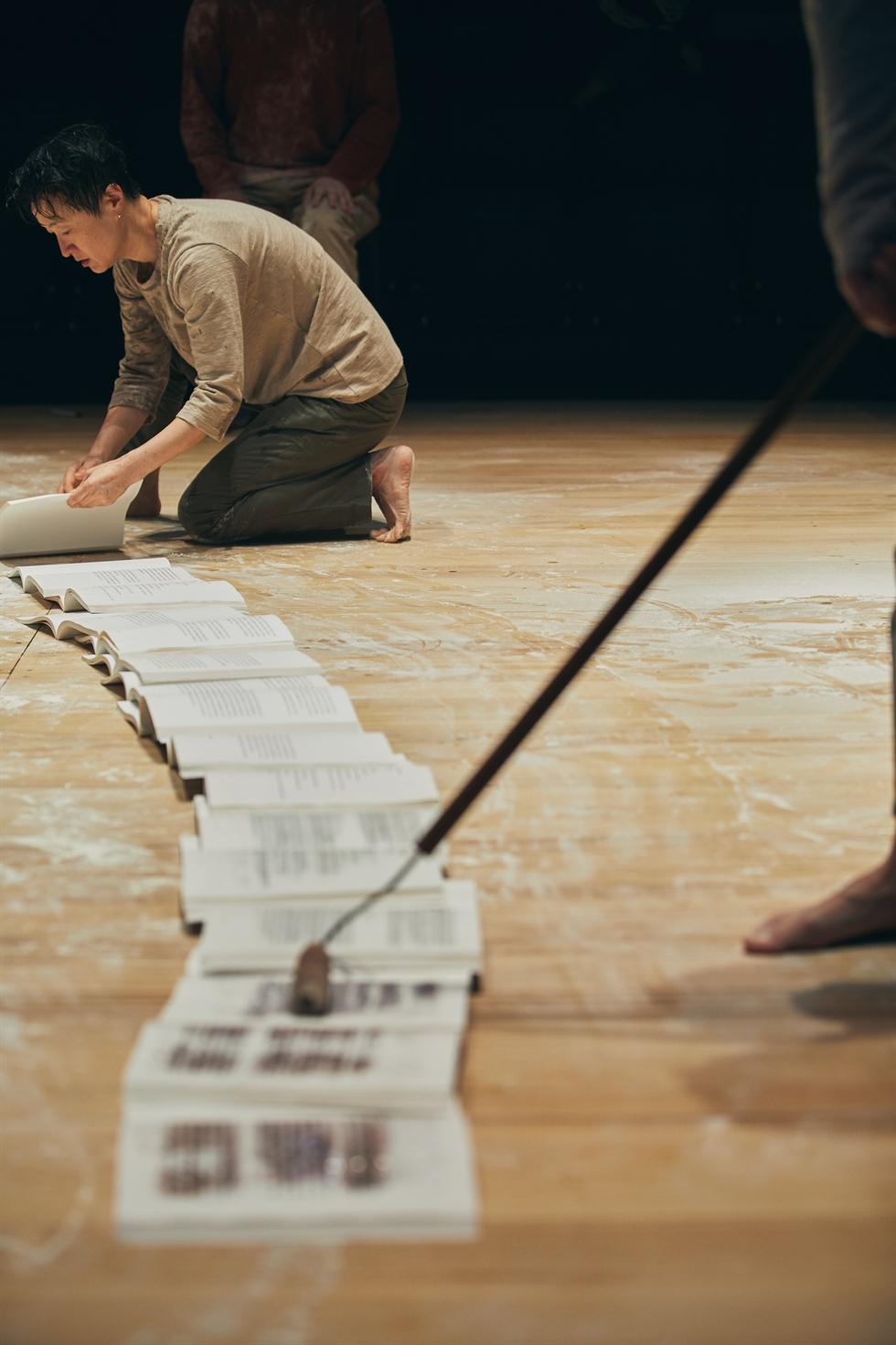 A scene from 'Human Fuga,' based on Han Kang's novel 'Human Acts' / Courtesy of Namsan Arts Center