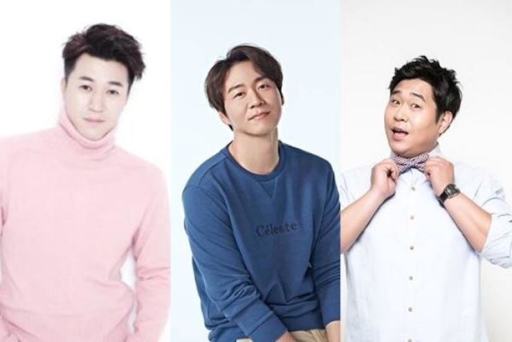 The cast for '2 Days & 1 Night' includes original member Kim Jong-min, actor Yeon Jung-hoon and comedian Moon Se-yoon. Courtesy of FNC Entertainment