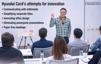 Hyundai Card breaks hierarchy to spur innovation