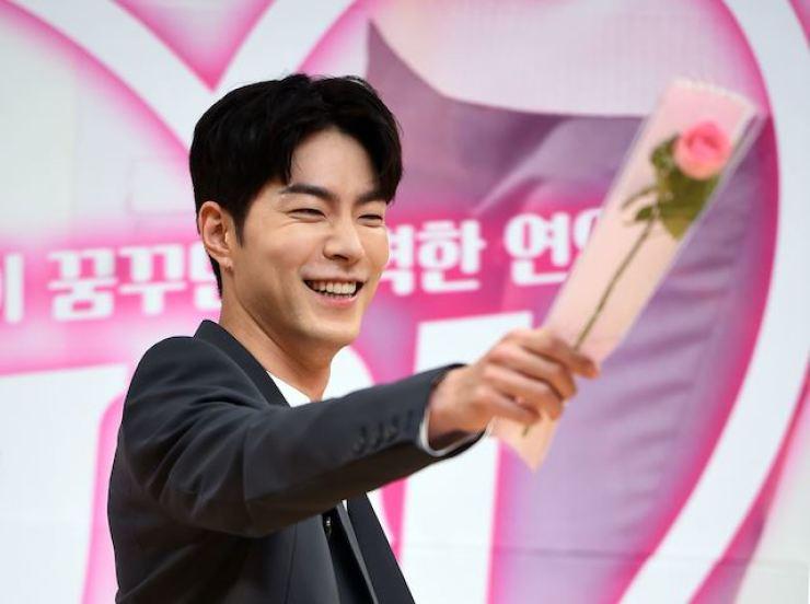Korean actor and model Hong Jong-hyun. Korea Times file
