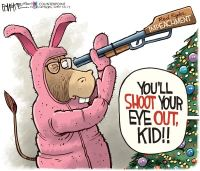 Dems Shoot Eye Out