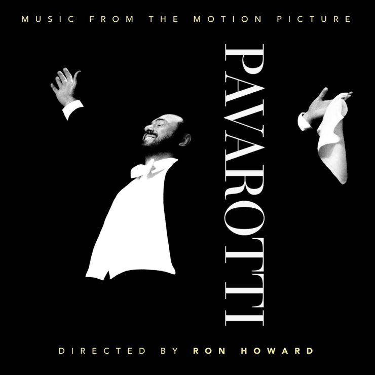 The original soundtrack album for Ron Howard's music documentary film 'Pavarotti' was released Friday in Korea, prior to the film's release next month in Korea. / Courtesy of Universal Music Korea