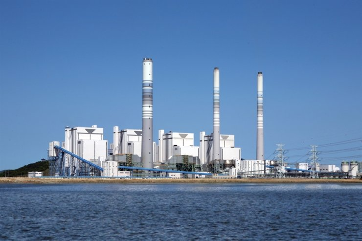 A coal plant in Korea South-East Power's Yeongheung Division in Incheon. Courtesy of Korea South-East Power