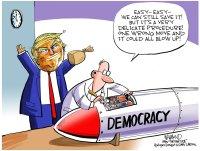 US democracy at stake