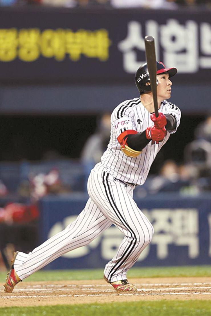 Oh Ji-hwan in action