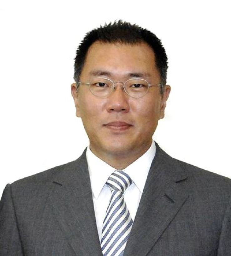 Hyundai Motor Group Executive Vice Chairman Chung Eui-sun