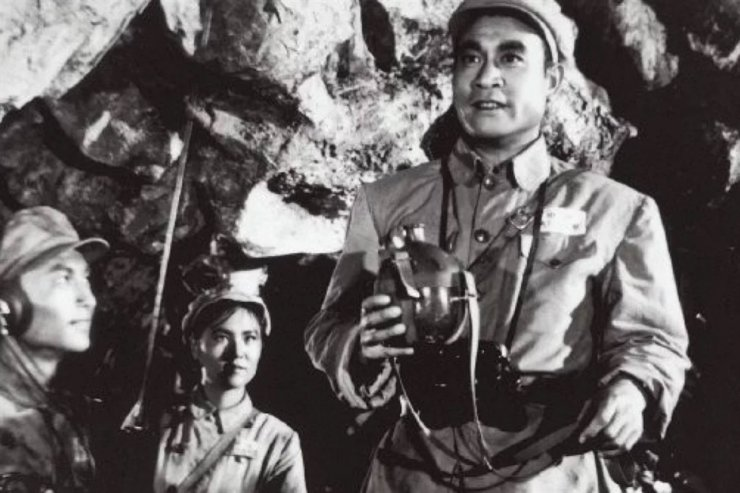 A scene from the 1956 Chinese film 'Shang Gan Ling,' about the Korean war Battle for Triangle Hill, subject of a new film which is about to go into production in China. South China Morning Post