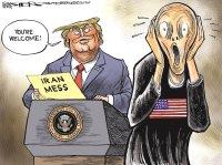Trump speaks on Iran