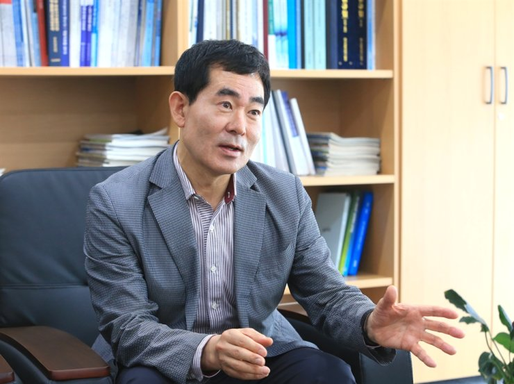 Moon Jeon-il, president of Korea Institute for Robot Industry Advancement (KIRIA) / Courtesy of KIRIA