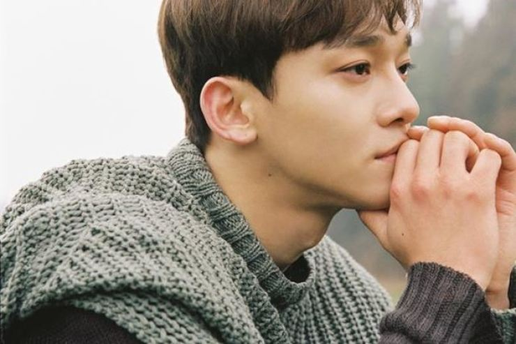 Chen debuted as a member of EXO in 2012. Courtesy of SM Entertainment