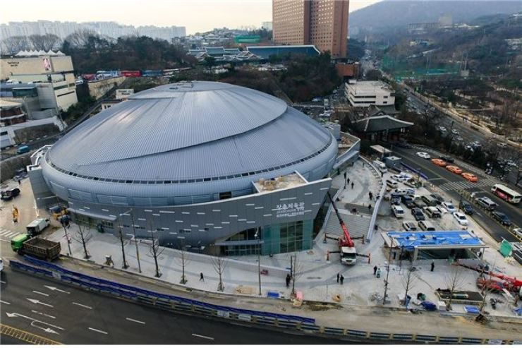 This photo shows the view of Jangchung Arena in Seoul just before its reopening in October 2015. /Courtesy of Seoul metropolitan government