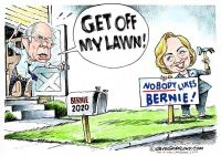 Hillary slams Bernie