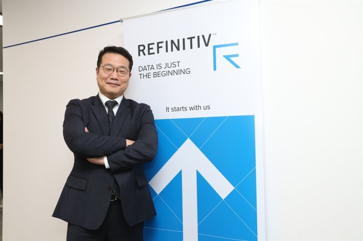 Refinitiv Korea Representative Director Kim Suk-joon / Courtesy of Refinitiv Korea