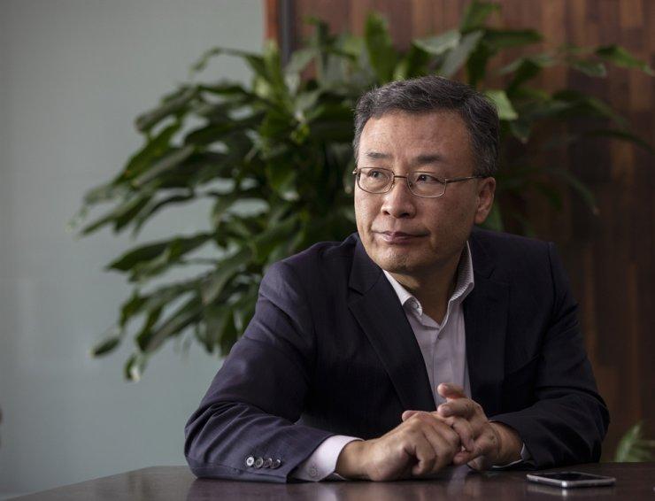 K bank CEO Shim Sung-hoon / Korea Times file
