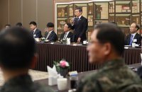 Meeting with defense industry CEOs