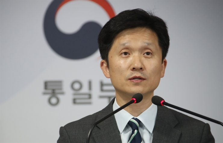 Unification Ministry spokesman Lee Sang-min / Korea Times file