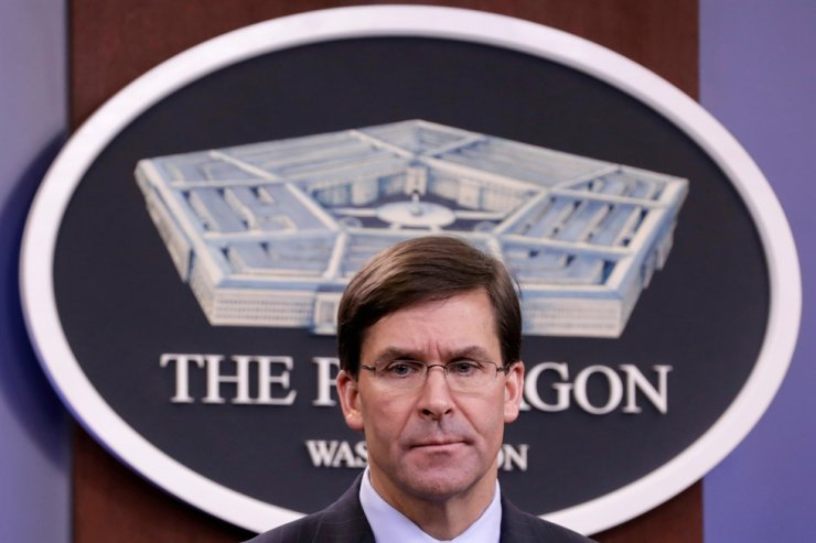 U.S. Defense Secretary Mark Esper / Reuters