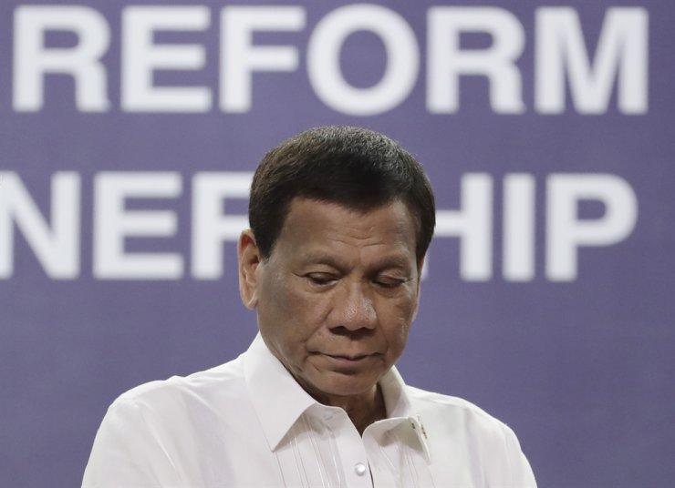 Philippine President Rodrigo Duterte / AP