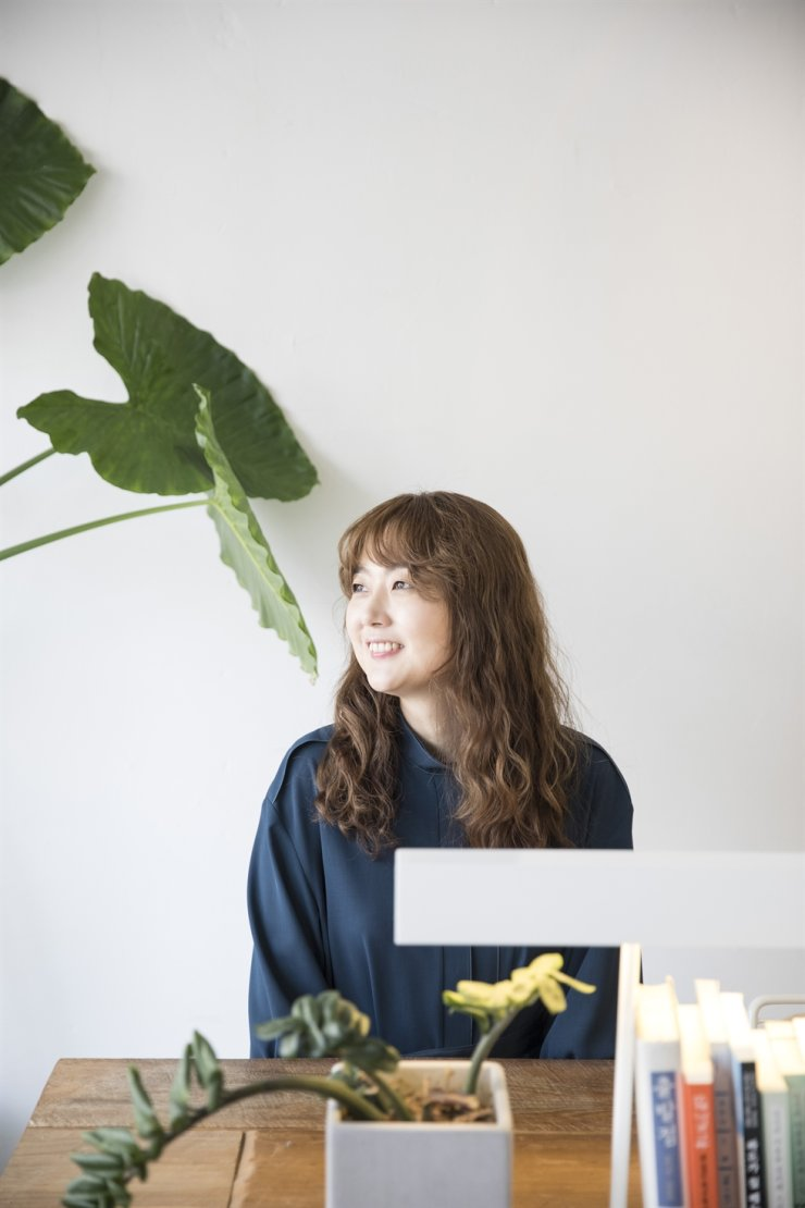 Writer Kim Keum-hee Korea Times file