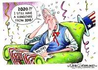 New Year 2020 hangover