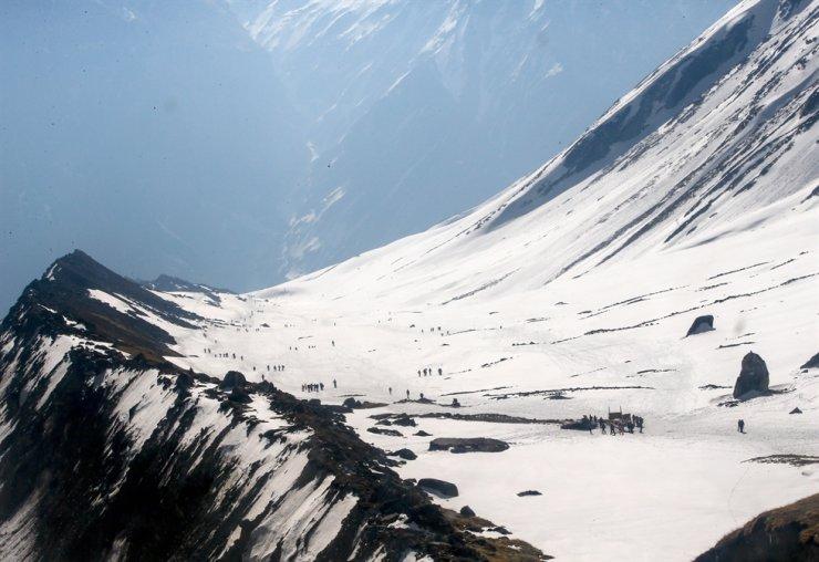 Himalayas' Annapurna trekking route in Nepal / EPA