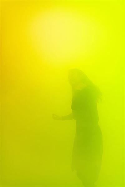 Korean artist Kang Yi-yun's 'Beyond the Scene.' Photo by Jang Jun-ho