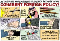 America's coherent foreign policy