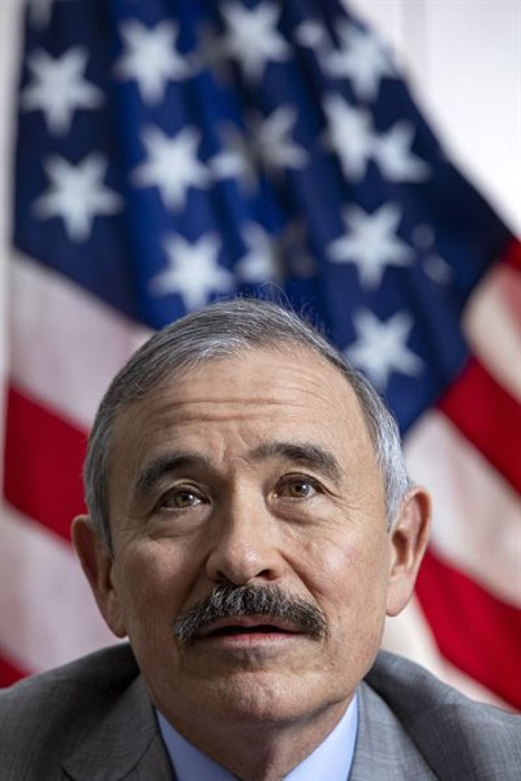 U.S. ambassador to Korea Harry Harris / Korea Times file