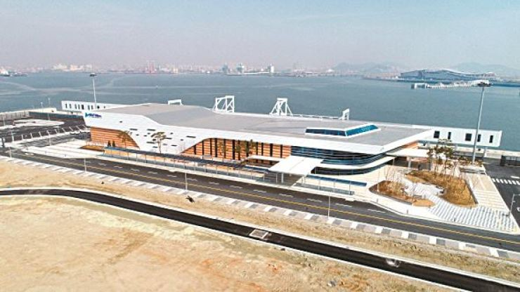 The Incheon Port International Cruise Terminal opened in April last year, but has shown lackluster performance due to the lasting aftermath of the THAAD deployment. / Courtesy of Incheon Port Authority