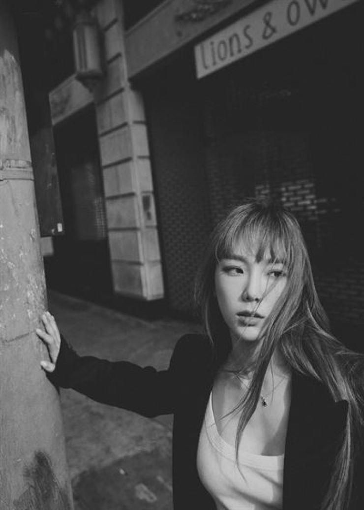 K-pop diva Taeyeon will return on Jan. 15. Courtesy of SM Entertainment