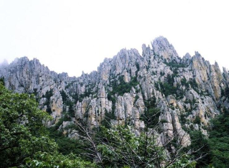 Mount Kumgang in North Korea. Korea Times file
