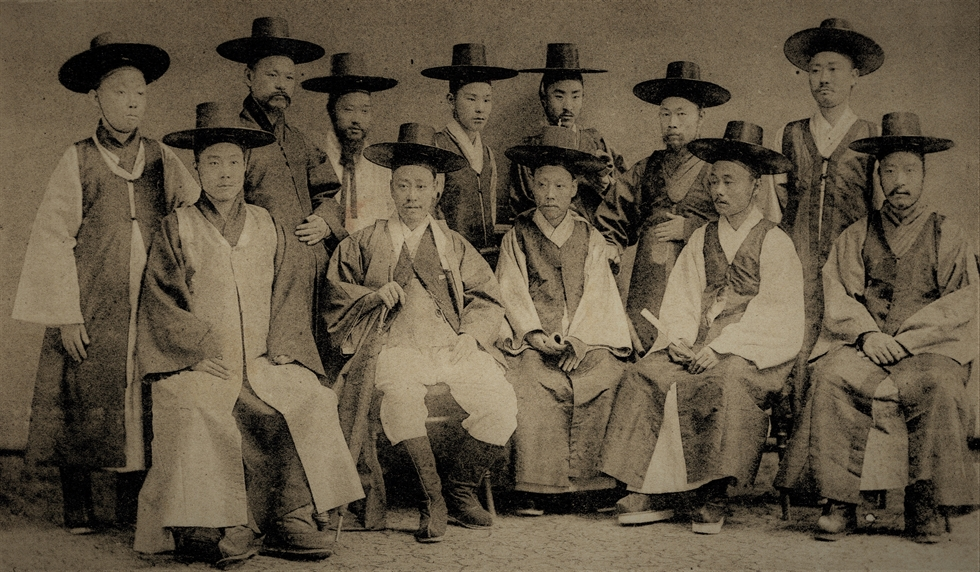 King Gojong in 1883-84. Robert Neff Collection