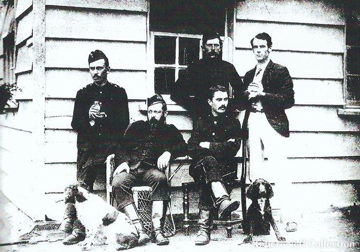 The Port Hamilton Sportsman's Club, circa 1886. Robert Neff Collection