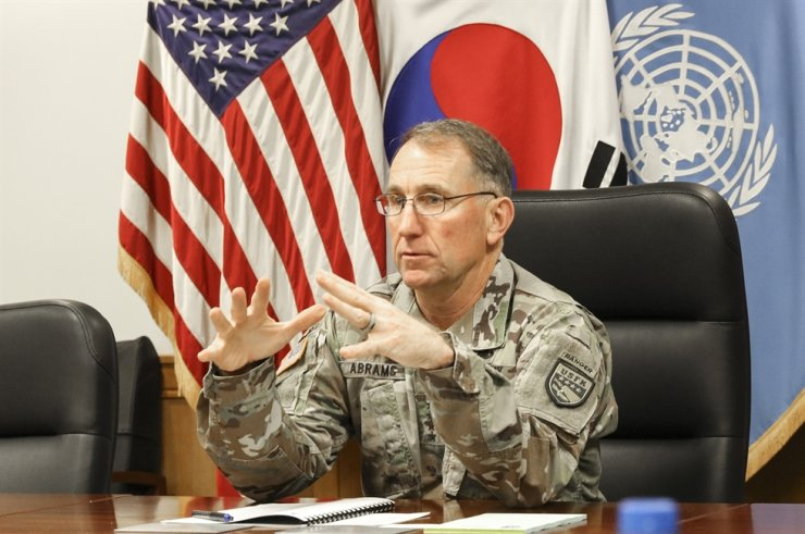 U.S. Forces Korea Commander Gen. Robert Abrams / Korea Times file