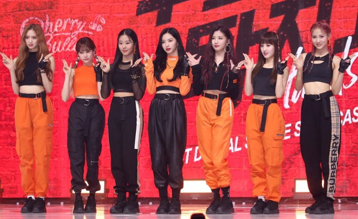 K-pop girl group Cherry Bullet returns with an energetic song. Yonhap