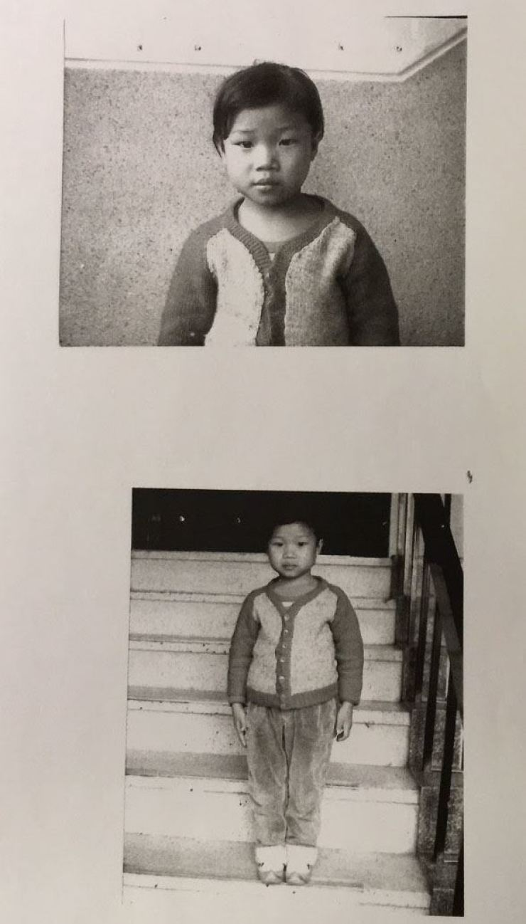 Photos of Lee Kook-za as a girl in Korea / Courtesy of Lee Kook-za