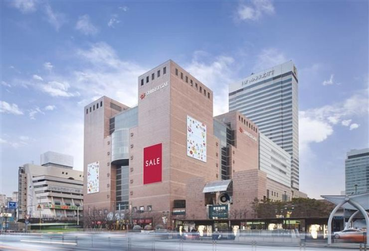 The Shinsegae Department Store in southern Seoul / Yonhap