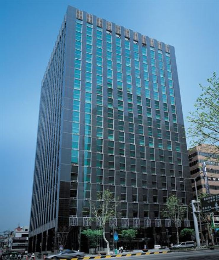 Hyundai Marine & Fire Insurance's business tower in southern Seoul / Courtesy of Hyundai Marine & Fire Insurance