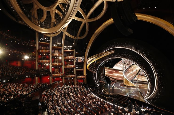 A general view of the Oscars show during the 92nd Academy Awards in Hollywood, Los Angeles, California, Feb 9. REUTERS-Yonhap