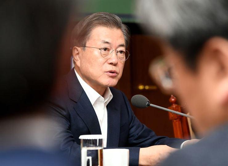 President Moon Jae-in Korea Times photo by Wang Tae-seok