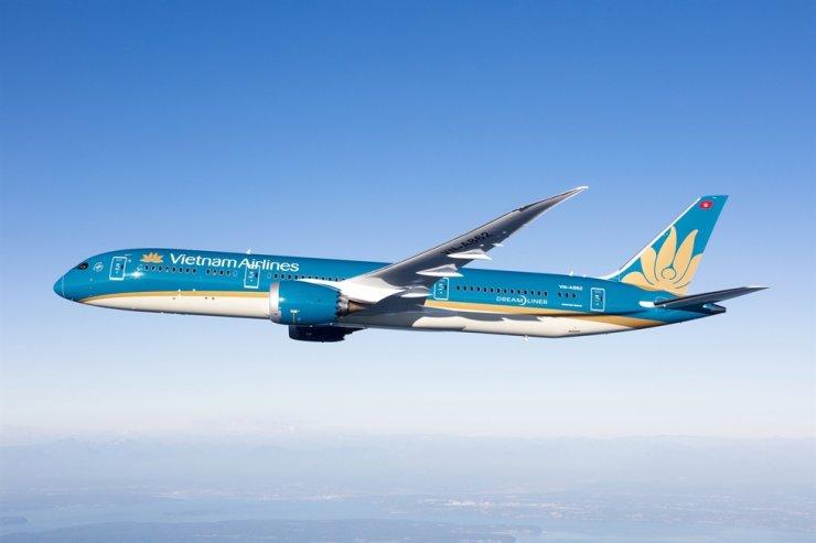 The man died on Vietnam Airlines flight VN415 on Saturday.