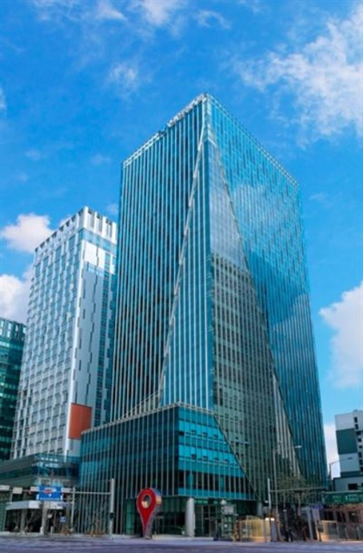 The Shinhan Life Insurance headquarters in Seoul. Courtesy of Shinhan Life Insurance