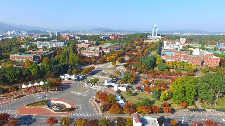 Daegu University in Gyeongsan, North Gyeongsang Province. / Courtesy of Daegu University