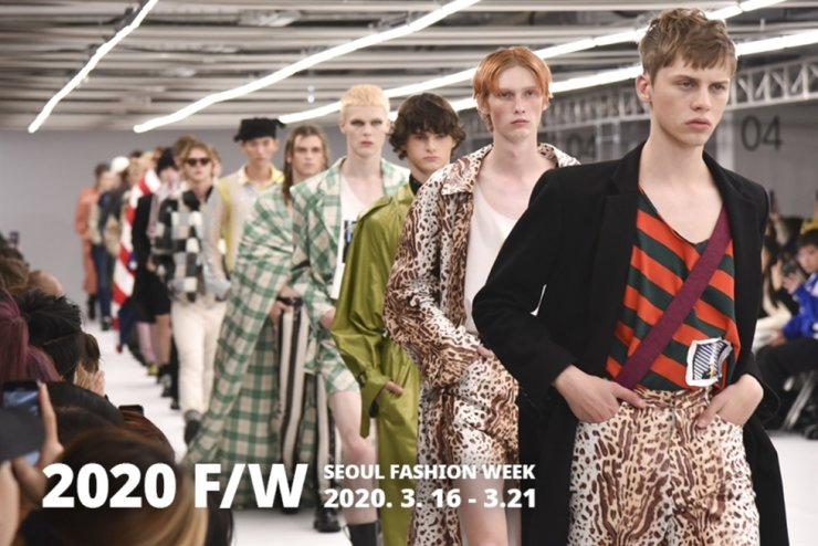 Seen is a screen capture from the website of Seoul Fashion Week. Courtesy of Seoul Fashion Week