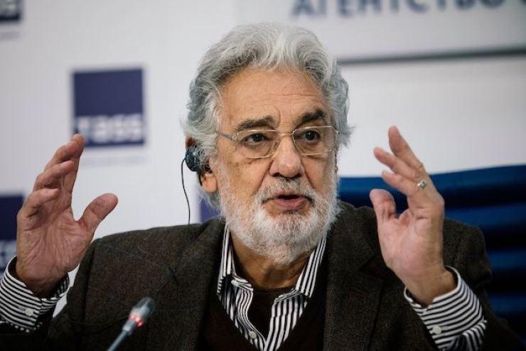 Placido Domingo. AFP-Yonhap