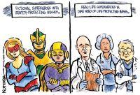 Real-life superheroes