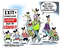 Disneyland COVID-19 closure