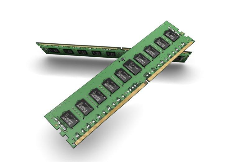DRAM modules of Samsung Electronics / Courtesy of Samsung Electronics